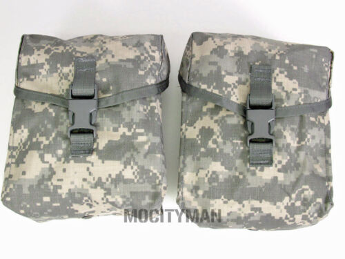 Military 200 Round ACU Utility Saw Gunners Pouch - Lot of 2 - New - USA Made