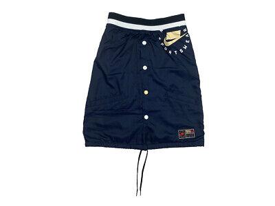 Nike Womens Sportswear Woven Casual Standard Fit Skirt Navy/Yellow New Nike Womens Sportswear