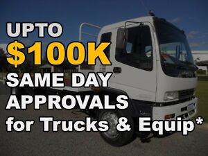 UPTO $100K TRUCK FUNDING! SAME DAY APPROVALS! RENT TO OWN TODAY Melbourne CBD Melbourne City Preview