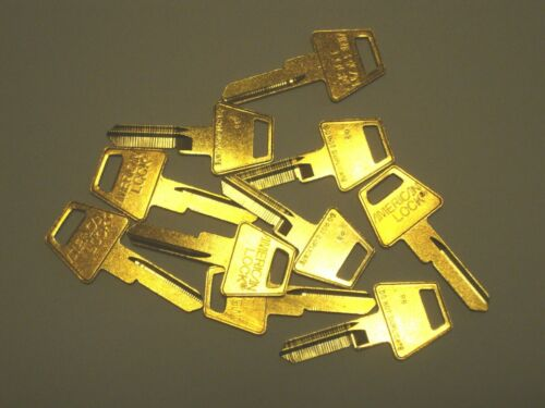 American Lock R8 Restricted Key Way Key Blank 6 Pin Lot of 10