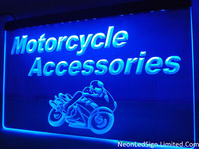 Motorcycle Accessories Display Service Sign Shop Club LED Sign Neon Sign