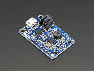 Adafruit PowerBoost 1000C Charger - 5V USB Boost Power Supply @ 1A from 1.8V+