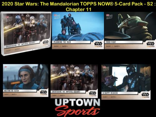 🚀 2020 Star Wars: The Mandalorian TOPPS NOW® 5-Card Pack - S2 : Chapter 11