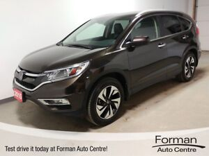 2015 Honda CR-V Touring - Remote Start | New tires | Htd Leat...