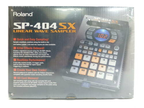 Roland SP-404SX Compact Linear Wave Sampler new from Japan