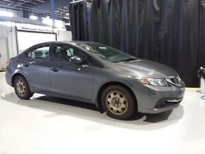 "2013 Honda Civic ""ONE OWNER"" CIVIC DX 5SPD SEDAN w/ POWER WINDOW"