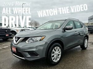 2015 Nissan Rogue S AWD  FREE Delivery