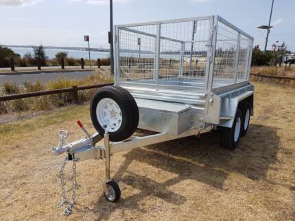 8x5 Hydraulic Tipper Galvanised Box Tipping  Trailer Kurnell Sutherland Area Preview