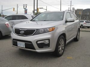 2012 KIA SORENTO SX |NAVI •7 Pass •2 Roofs•Leather