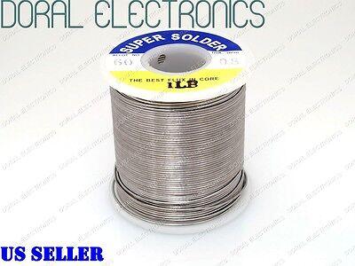 0.8mm 1.0 Lb 453g 6040 Rosin Core Flux Tin Lead Roll Soldering Solder Wire 1lb