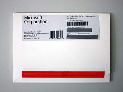 Windows Server Datacenter 2012 R1 (2008 R2), SB-Vollversion, deutsch (P71-06771) ()