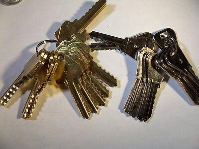 2 Sets  Arrow Ar1 And Weiser Wr 0 - 9 Depth Keys Locksmith