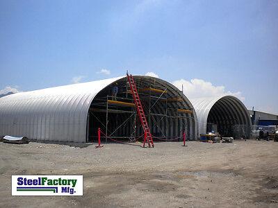 Steel Factory Mfg S40x44x16 Prefab Metal Arch Storage Building Garage Barn Kit