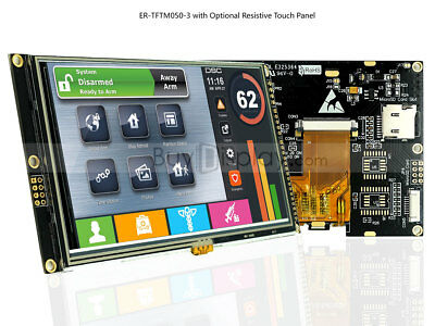 55.0 Inch Wvga 800x480 Tft Lcd Module Touch Displayi2cserial Spi Wtutorial
