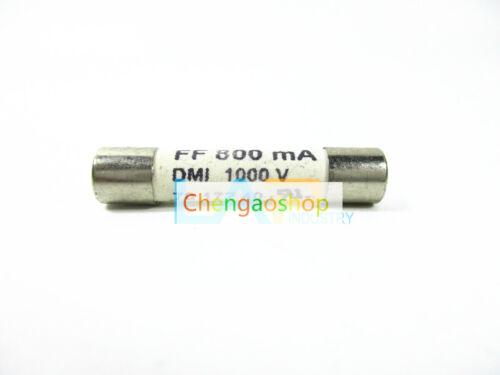 1PCS NEW SIBA FF800mA Fuse Ultra Rapid 800mA 1000V DMM #Q8053 ZX
