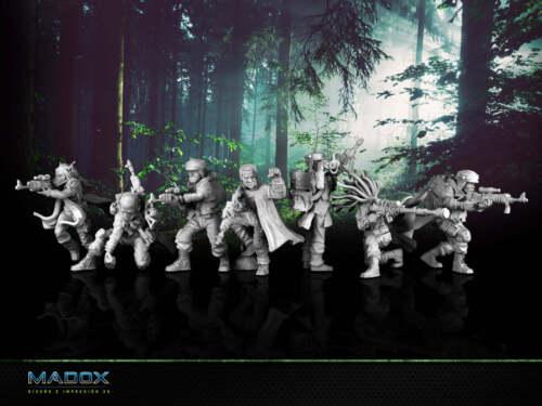 Star Wars Legion Rebel Commando Squad - Custom 3D printed