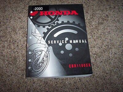 2000 Honda CBR1100XX CBR 1100 XX Motorcycle Original Service Repair Shop Manual