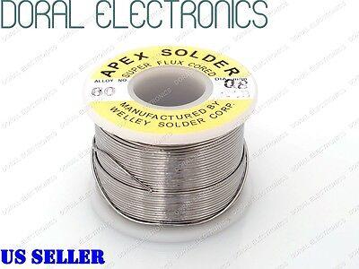 0.8mm 0.5 Lb 226g 6040 Rosin Core Flux Tin Lead Roll Soldering Solder Wire 12