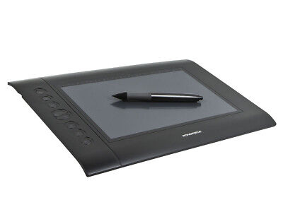 """Monoprice 10594 10 x 6.25"""" Graphic Drawing Tablet 4000 LPI 200 RPS 2048 Levels"""