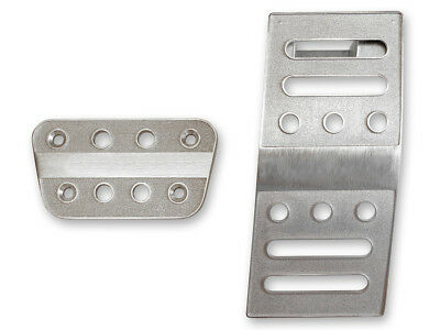 2005-2019 Ford Mustang auto trans billet aluminum brake & gas pedal trim - Mustang Pedal Covers