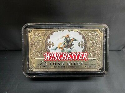 Winchester 1993 Commemorative Tin .22 Long Rifle, limited edition (VP2034383)