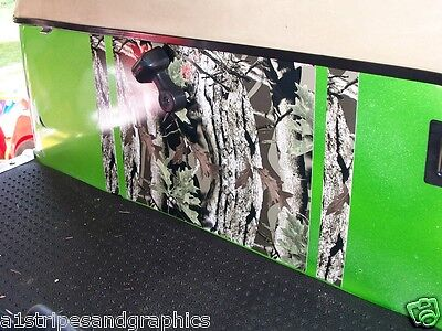 "Golf Cart 19"" HOOD & UNDER SEAT Stripes CAMO Graphics EZGO club Car Yamaha"