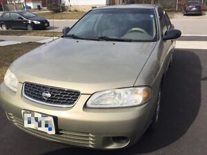 2001 Nissan Sentra || VERY LOW KM || NO RUST