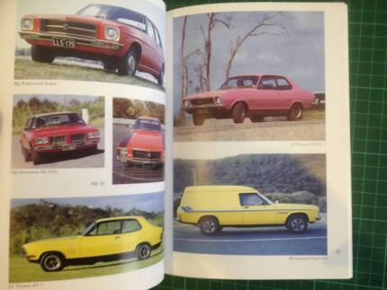 Holden 50th Anniversary 1948 to 1998 Book FJ to VT Very Nice