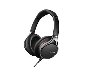 Sony MDR-10R Hi-Res Stereo Wired Headphones (Black)