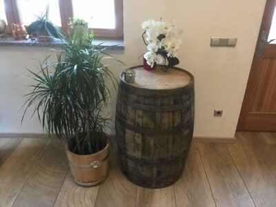 Holzfaß Whiskyfaß Faßtisch Stehtisch gebraucht Whisky Eichenfaß Tischfaß Holzfaß online kaufen