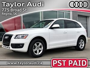 2011 Audi Q5 3.2 Premium PST PAID, LOCAL TRADE, NAV, B&O SOUND