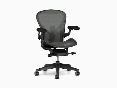 Herman Miller Aeron Chair Remastered Model Brand New B Size - Open Box