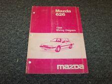 1986 Mazda 626 Sedan Original Electrical Wiring Diagram ...