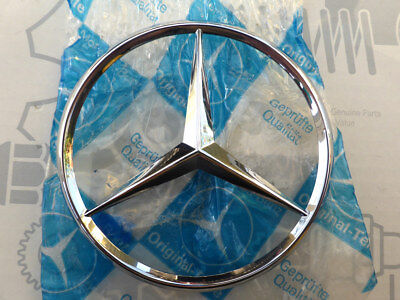 Original Mercedes Heckdeckel-Stern W126 1. Serie Metall 1267580058 NEU! NOS! gebraucht kaufen  Bargenstedt