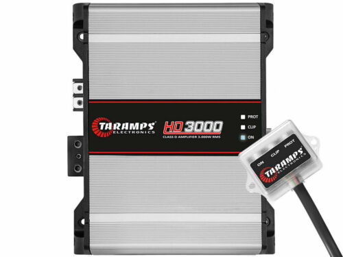 AUTHENTIC TARAMPS HD3000 1ohm FROM BRAZIL -SHIPS FAST FROM USA-USA Warranty