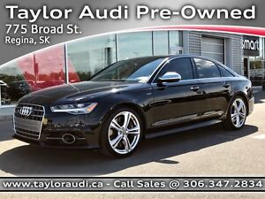 2016 Audi S6 4.0T LOCAL TRADE, 1 OWNER, DRIVERS ASSITANCE PKG...