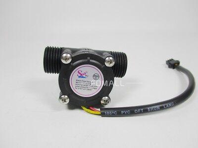 1pcs New Water Flow Sensor Yf-s201 White Or Black Free Shipping