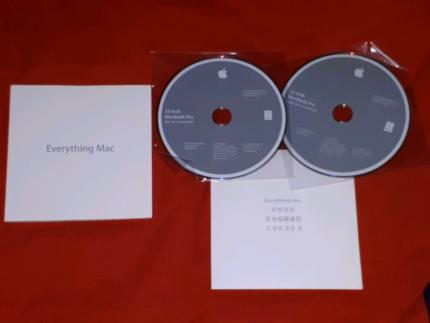 MacBook Pro Books/Manuals/OS X 10.6.6 DVD