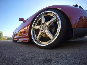 Vertini Drift Full set 20x8.5 - 20x10 with tyres + 4 spares Launceston Launceston Area Preview