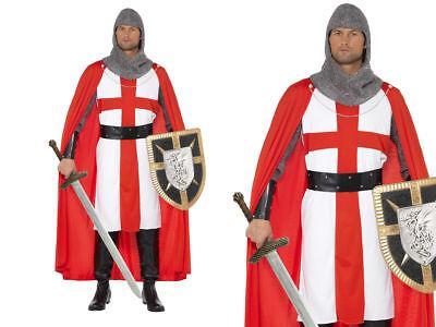 Kostüm Held Herren Ritter (Erwachsene Ritter Kostüm)