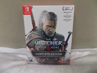 Nintendo Switch The Witcher Wild Hunt Complete Edition Video Game