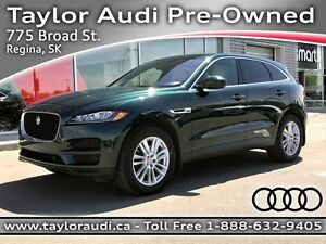 2017 Jaguar F-PACE 20d Prestige VISION ASSIST PKG, HEATED WIN...