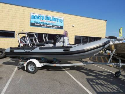 CRUSADER RIB GREAT ALL ROUNDER TERRIFIC TENDER NOW REDUCED
