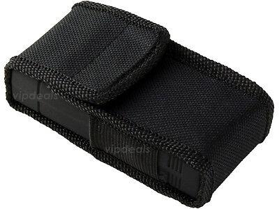 VIPERTEK BLACK VTS-880 30 BV Mini Rechargeable LED Police Stun Gun + Taser Case