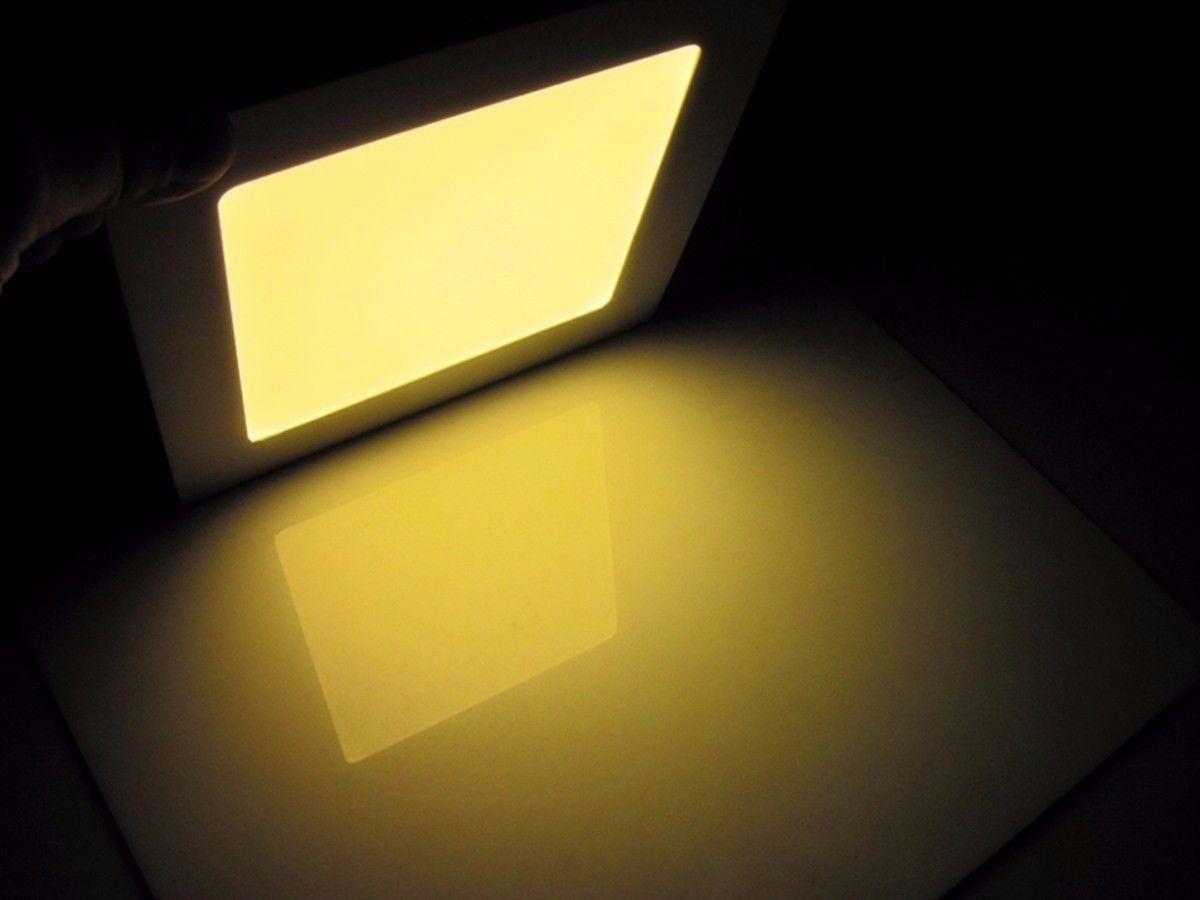 lights 4 4 of 5 dimmable epistar recessed led panel light 9w 12w 15w. Black Bedroom Furniture Sets. Home Design Ideas
