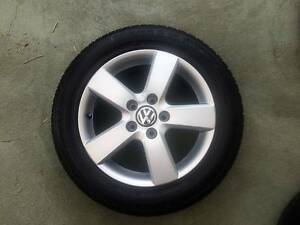 "Volkswagen Golf, Caddy, 4x factory Tyres and Rims 16"" Blacktown Blacktown Area Preview"