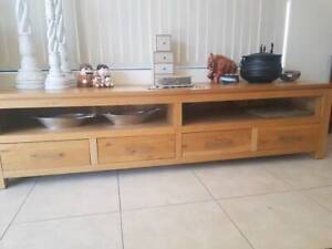 SOLD PENDING PICK-UP..Wooden Entertainment/TV cabinet
