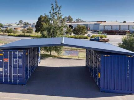 Need PORTABLE STORAGE with a Roof? Get a PORTAROOF TODAY