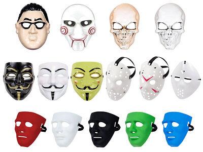 Vendetta Halloween Saw Karneval Fasching Totenkopf Horror Maske Skull