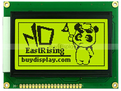 12864 128x64 Dots Graphic Lcd Module Display Glcd Wks0107ks0108 Controller